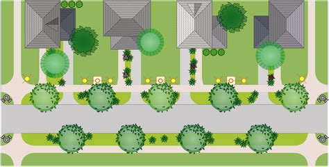 residential site plan site plans solution conceptdraw com