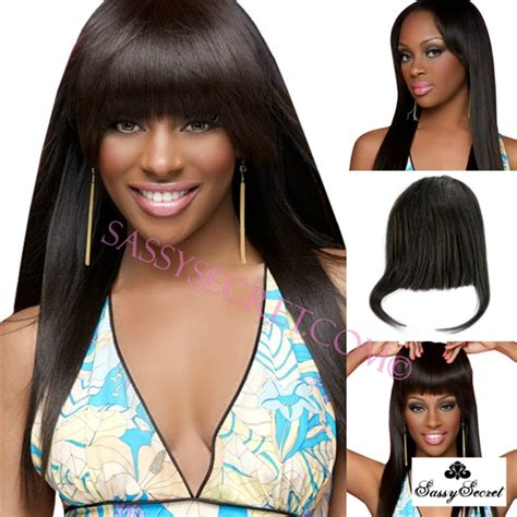 clip on bangs for african american hair african american bang clip on hairstylegalleries com