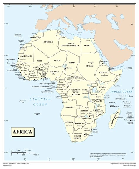 africa map detailed maps of africa and countries political maps