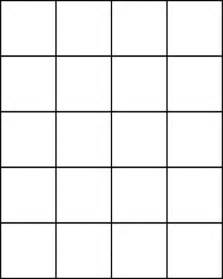 small squares for pattern block set clipart etc