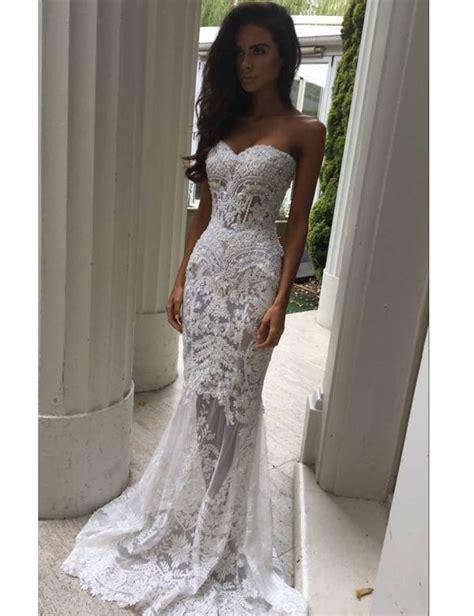 elegant mermaid wedding dress 44 about wedding