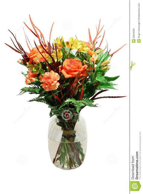 Bunch Of Flowers In A Vase by Bunch Of Flowers In Vase Royalty Free Stock Images Image