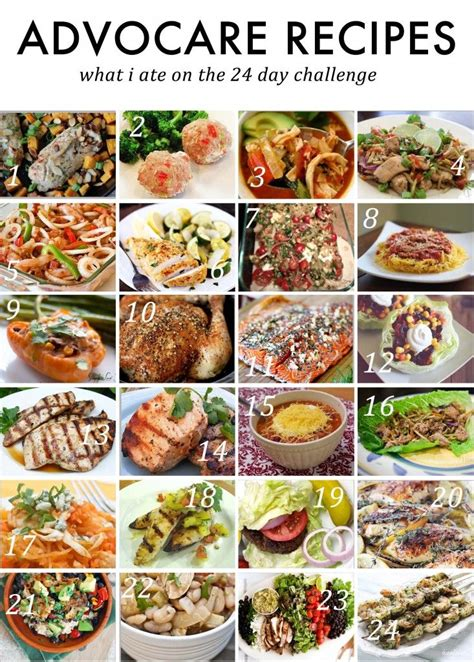 Advocare 24 Day Detox Reviews by Best 25 Advocare Cleanse Recipes Days 1 10 Meals Ideas On