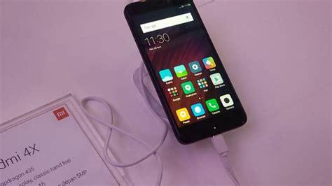 Handphone Xiaomi Di Medan indonesia jadi debut redmi 4x tribunnews