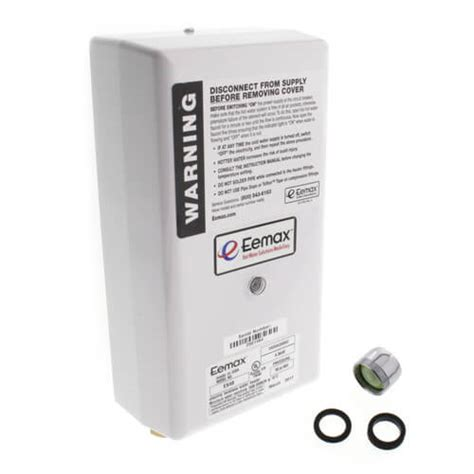 tankless water heater electrical connection ex48 eemax ex48 ex48 flow controlled electric tankless