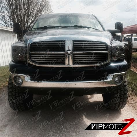 2006 dodge ram 2500 fog lights 2006 dodge ram 2500 3500 smoke halo projector headlight