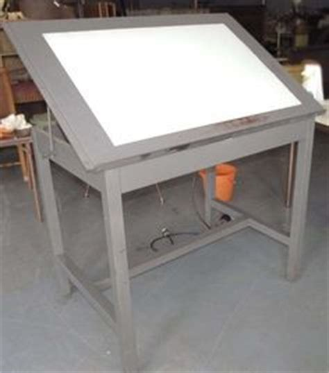 drafting table with light ikea blecket table top artur trestles no 3 photos