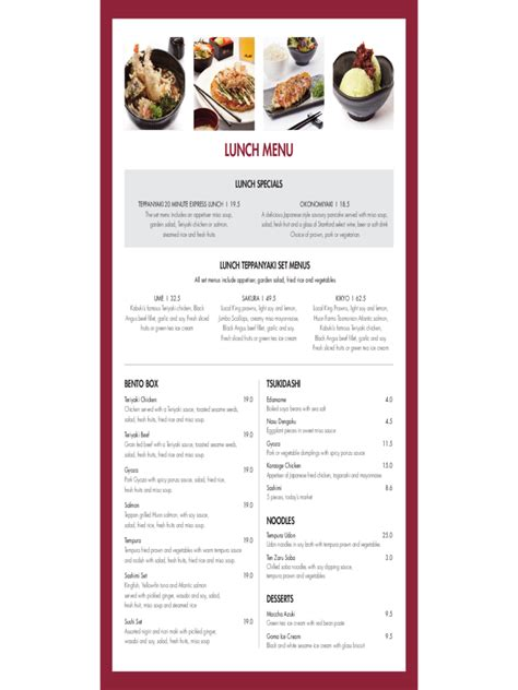 restaurant menu template 5 free templates in pdf word