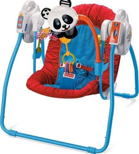 fisher price swing n meals fisher price miracles milestones take along sensory