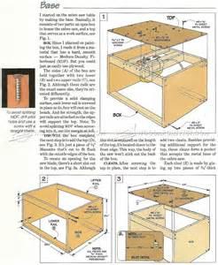 jigsaw table plans woodarchivist