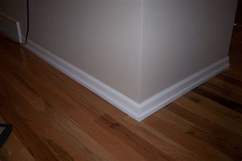 White Baseboards With Wood Floors by Booneandjessinmadison Combase Boards Done The White Way