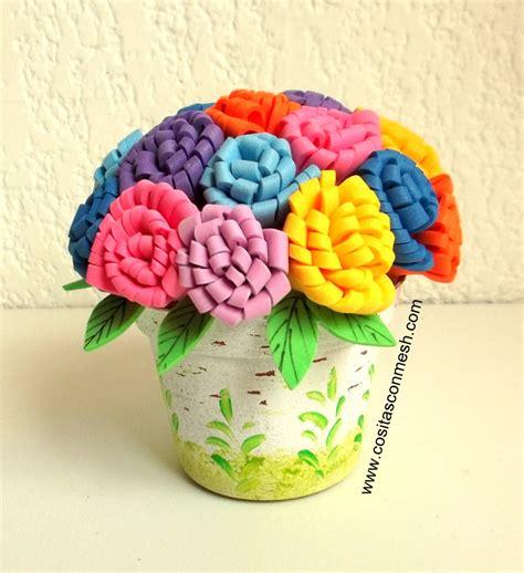 imagenes de flores fomix flores manualidades fomi newhairstylesformen2014 com