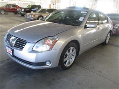 2005 nissan maxima se/sl sedan 4 door @auctionexport