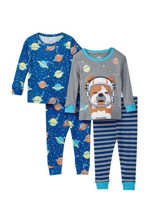 Wst11514 Set Space Cotton candlesticks outer space pup cotton pjs set of 2 baby boys nordstrom rack