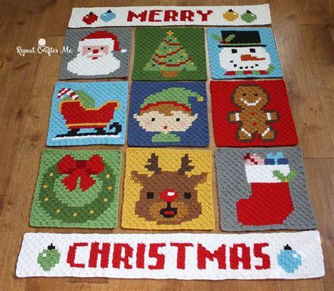 Ransel Merry a pixel crochet blanket pattern