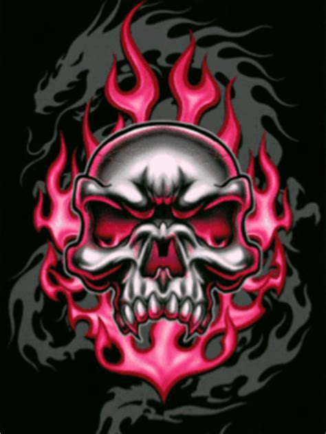 imagenes nike movibles free colorful skull dragon gif phone wallpaper by
