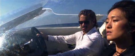 driving the original miami vice boat miami vice 2006 ferdy on films