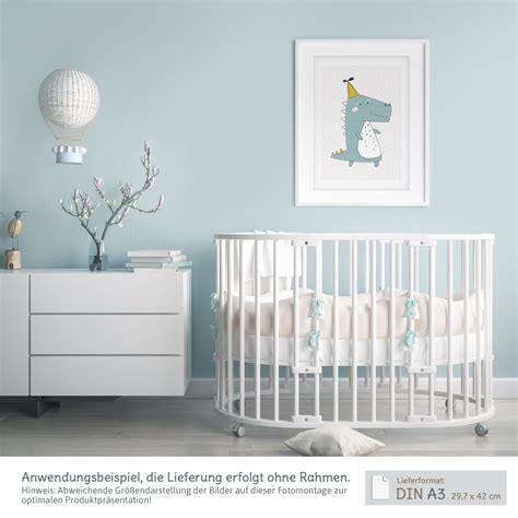 Kinderzimmer Junge Poster by A3 Poster Kinderzimmer Jungen Und M 228 Dchen Krokodil Mit