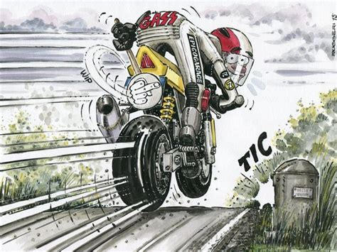 Motorrad Triumph Spr Che by Pin Nigel Hawkins Auf Motorcycle Graphics