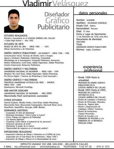 Modelo Curriculum Vitae Habilidades Ejemplos De Curriculum Vitae Ejemplos De