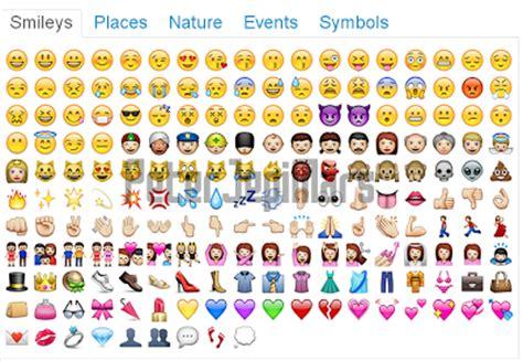 emoji dan artinya emoticon facebook terbaru 2013 mas rizky