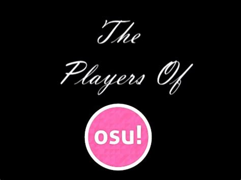 Osu Ask Fm | the players of osu youtube