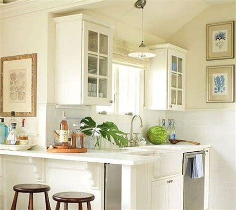 white cabinet practical small kitchen design layout
