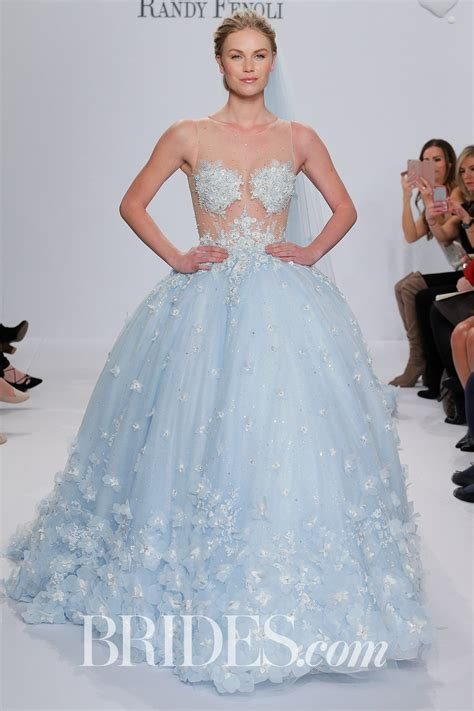 Branded Ny Collection Tosca Colorful Flower Dress randy fenoli for kleinfeld bridal wedding dress collection 2018 brides brandi quot pastel