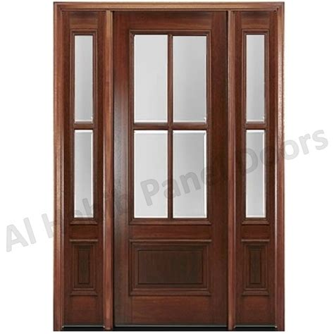 Glass Panel Wood Interior Doors by Wood Interior Door With Glass Hpd175 Glass Panel Doors