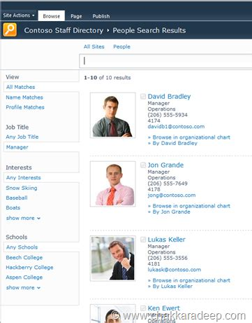 Search Directory Put Building A Staff Directory Chaks Sharepoint Corner