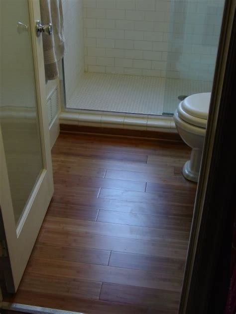bamboo flooring in bathroom pin by dave randall on projects done by dmr construction