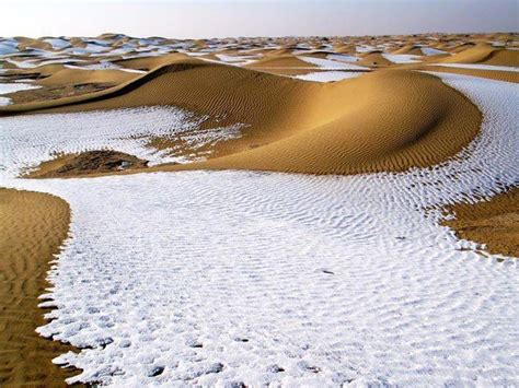 snow in desert earth s weird weather snow in algeria desert dalilahenache