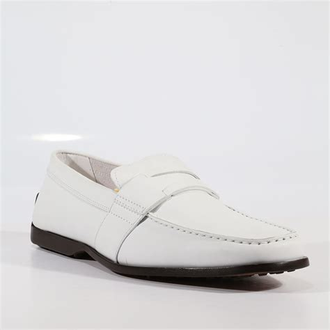 mens white shoes tods mens shoes italian mocassimo greca nuovo driver white
