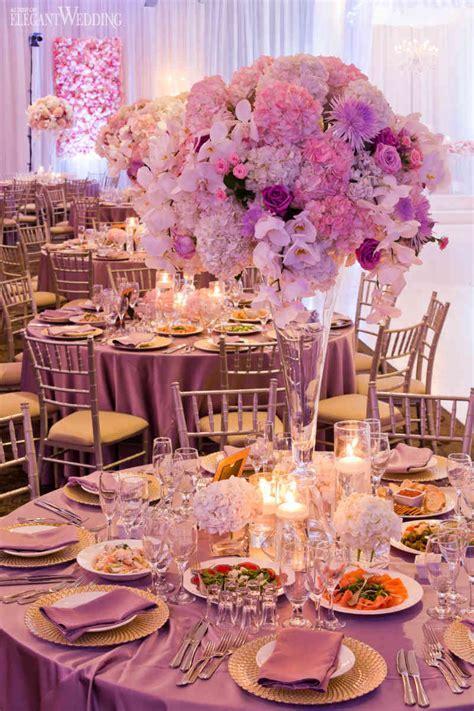 Beautiful Pink and Purple Wedding   ElegantWedding.ca