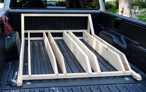 Wooden Bike Rack For Truck Bed by How To Build A Wood Rack For Truck Woodworking Projects Plans