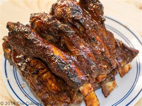 how to cook barbecue beef ribs the culinary cer