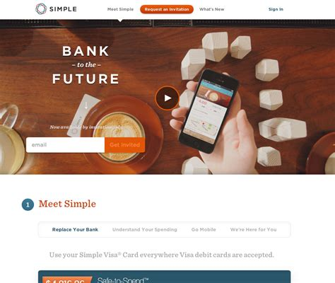 simple bank how emotional design can give your website much more impact