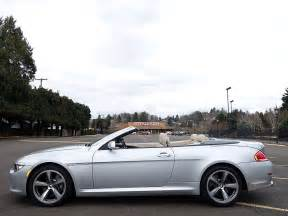Bmw 650i Convertible For Sale Used 2008 Bmw 650i Convertible For Sale In Eugene Oregon