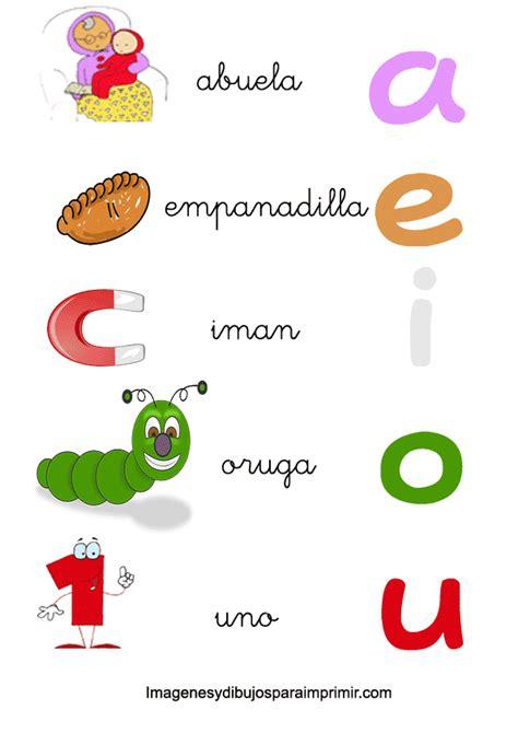 imagenes en ingles con las vocales memoramas infantiles vocales gratis
