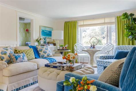 multipurpose living room layout lime green and orange california home hgtv s decorating