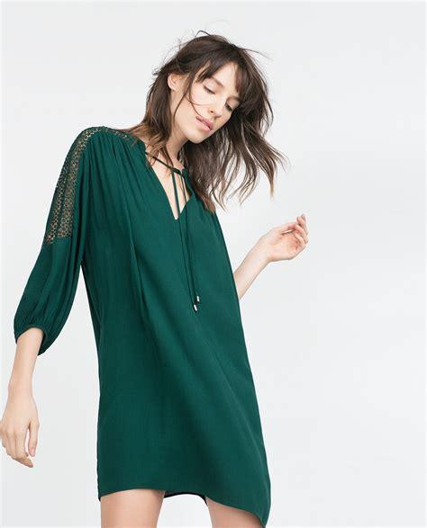 Dress Premium Zara Auntumn Mermaid zara green dress other dresses dressesss