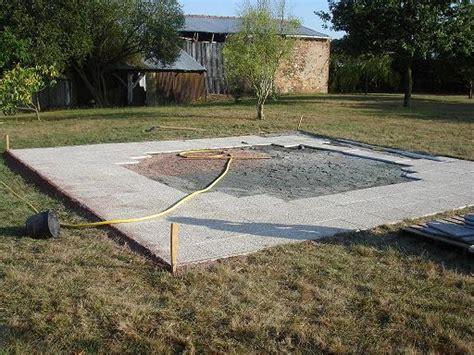 Dallage Piscine Hors Sol Forum Jardin Assainissement