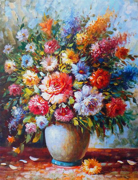 fiori quadri quadri moderni su tela dipinti a mano con fiori dove