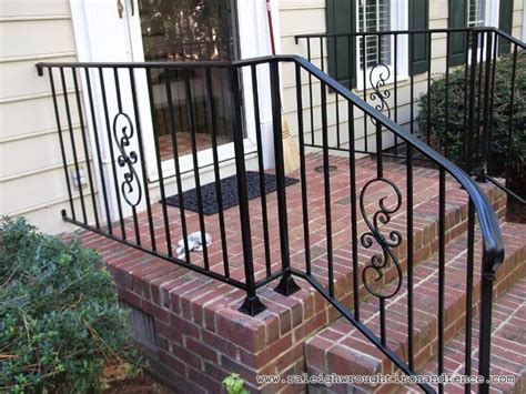 wrought iron front porch railings 16 best wrought iron deck railings images on