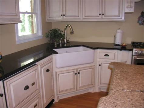 Corner Apron Sink For The Home Pinterest Corner Sink In Kitchen