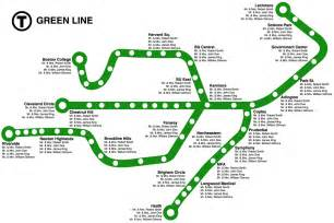 Green Line City Exploration Boston The Green Line The Cyber Forest