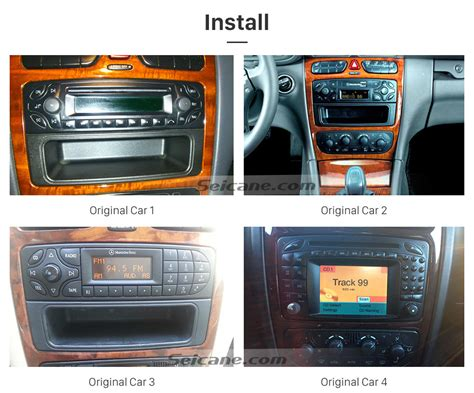 Can I Install An Aux Port In Car by Seicane S127507 16g 2000 2005 Mercedes C Class W203