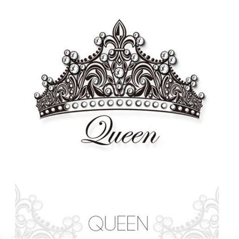 queen tattoo writing queen crown tattoos queen crown swarovski crystal tattoo