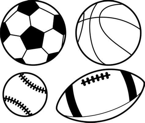 black and white balls sports vector getty images
