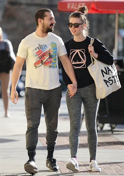 Shia Lebeouf Makes Out With Mop Thingy by Jaden Smith Apparently Likes Vintage Nascar T Shirts